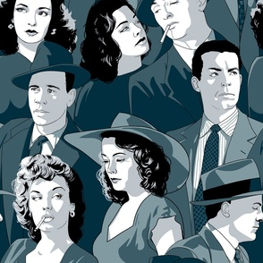 Deadly Dames and Daring Detectives