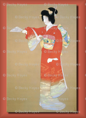 Oriental / Asian Woman in Kimono