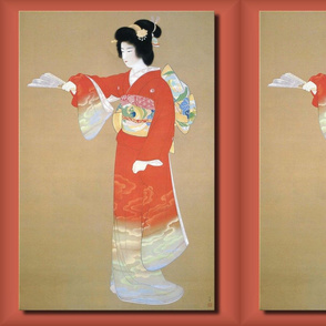 Oriental / Asian Woman in Kimono