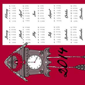 2014 Cuckoo Calendar