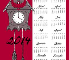 2014 Cuckoo Calendar Expanded
