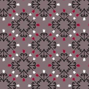 Clock Tulip Pattern