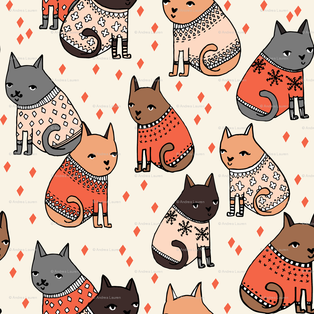 Cat Sweater Pattern Magnificent Inspiration