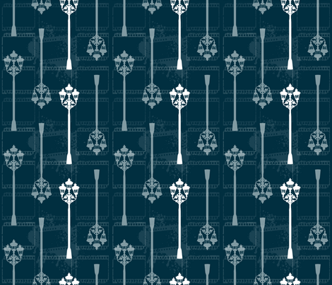 Bloody Film Noir fabric by larasati on Spoonflower - custom fabric