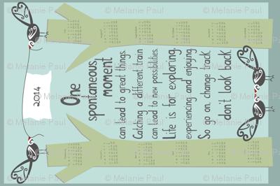 One_Spontaneous_Moment_2014 Calendar