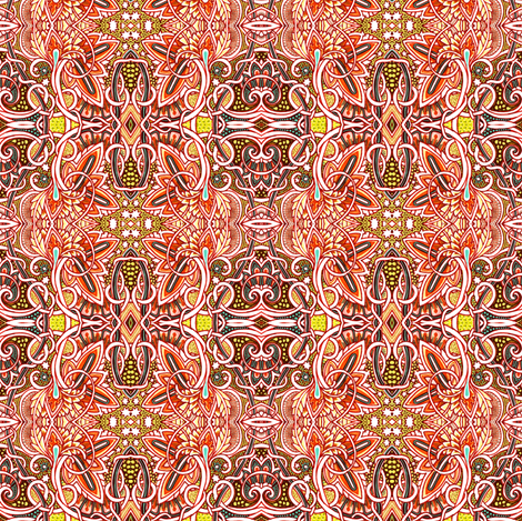 When the Pollen Flies fabric by edsel2084 on Spoonflower - custom fabric