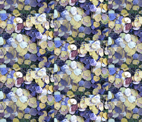 aspen leaves fabric by idaho13 on Spoonflower - custom fabric