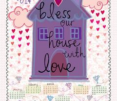 Bless Our House 2014 Calendar