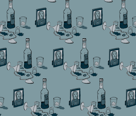 The last good weekend fabric by blotchandthrum on Spoonflower - custom fabric