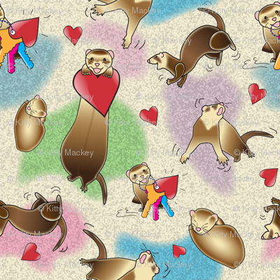 Ferrets Dance