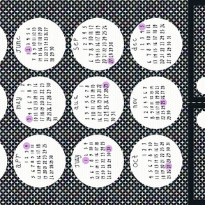 2015 Full Moon Tea Towel Calendar - with bonus bookmarks