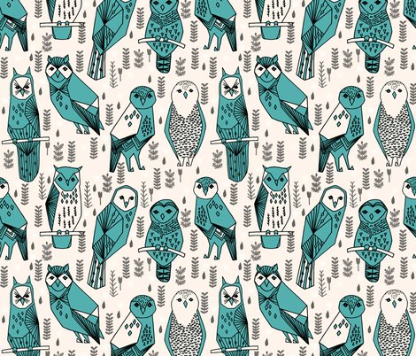 Owls_print_champagne_tiff_blue_shop_preview