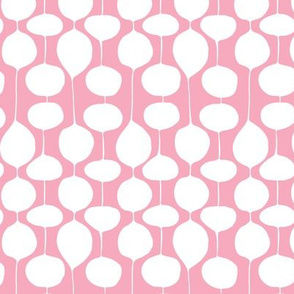 Holiday Bobbles - Abstract Geometric Festive Pink