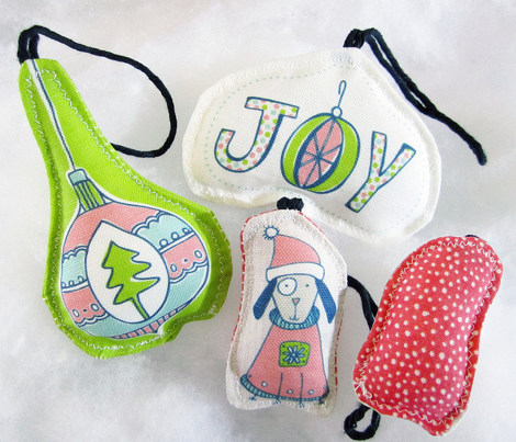 Holiday Cut & Sew Ornaments / Tags