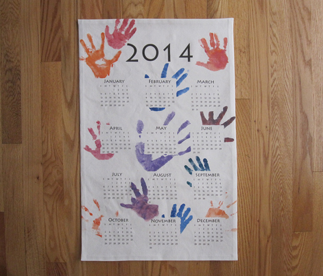 2014 Add-Your-Art Tea Towel Calendar