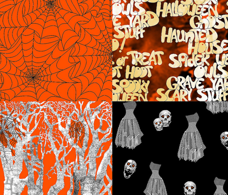 Haunted, Webs, Words, Woods and Wobblies