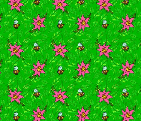Bees-green-leaves-and-flowers_shop_preview