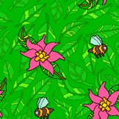 Bees-green-leaves-and-flowers_shop_thumb