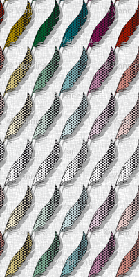 Tweets coordinate Feather (White)