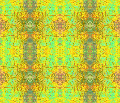 Happy Ferns fabric by guylas_coastal_creations on Spoonflower - custom fabric