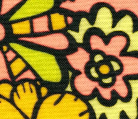 Yellow Hippy Flowers