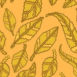 Blocky Autumn Leaves