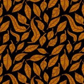 Autumn-leaves-on_black