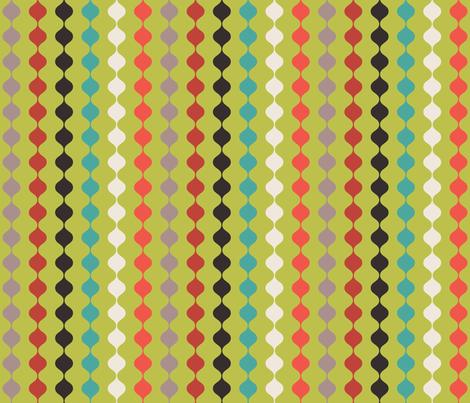 Retro Beads fabric by erijoyjoy on Spoonflower - custom fabric