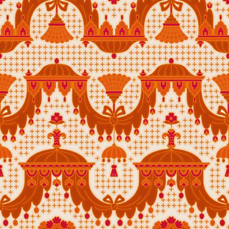 Rococo 2e fabric by muhlenkott on Spoonflower - custom fabric