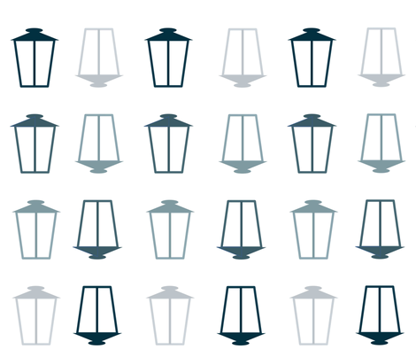 Lamps fabric by mikavela on Spoonflower - custom fabric