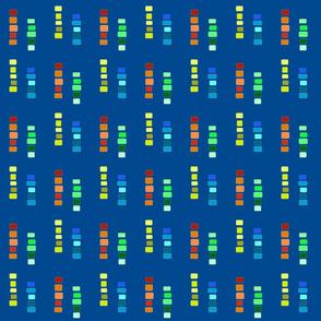 Blocks on Blue
