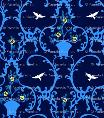 happy place - blue