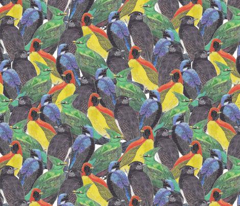 Birds Birds Birds fabric by lydia_meiying on Spoonflower - custom fabric