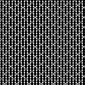 Large Hexagons or Diamonds Inverted