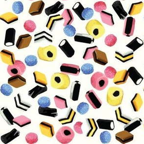 Bassetts Allsorts licorice candy