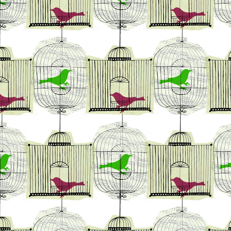 birdcage_repeat_2 fabric by sary on Spoonflower - custom fabric