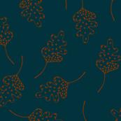Geometric Falling Leaves