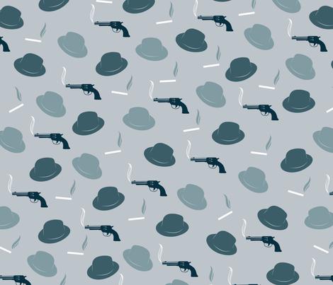 notorious fabric by orangekittycrafts on Spoonflower - custom fabric