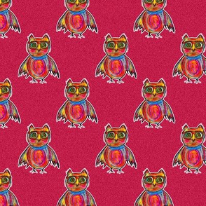 THE OWL WEARING GOGGLES