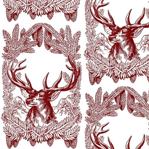 Stag Toile red