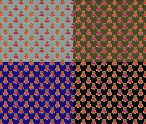 OWL_GOGGLS_COMBO_4_FAT_COULEURS_PAYSMAGE fabric by paysmage on Spoonflower - custom fabric
