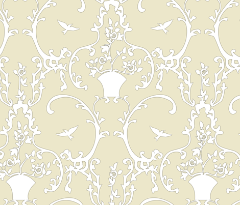 happy place - light fabric by glimmericks on Spoonflower - custom fabric