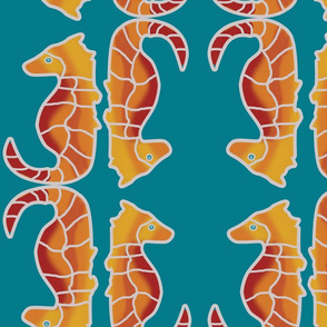 Seahorse Reflections