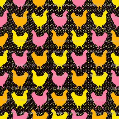 Happy Chickens (Dark)
