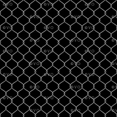 Behind the chicken coop curtain