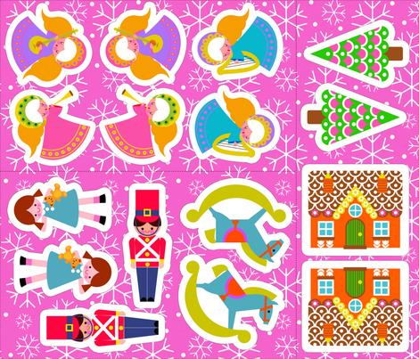 XMAS_DEC_FQ fabric by aliceapple on Spoonflower - custom fabric