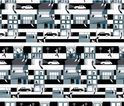 Film_Noir_by_Betsy_Berry fabric by betsyberry1984 on Spoonflower - custom fabric