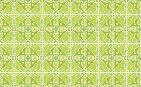 movember green fabric by myracle on Spoonflower - custom fabric