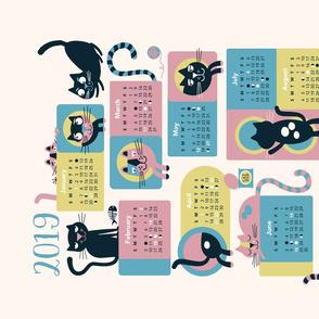 2019 Cat Calendar