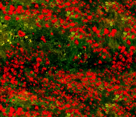 Rrmonet_poppies_only_dark_red_green_shop_preview